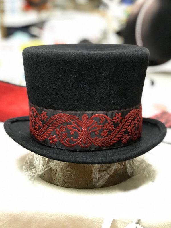Felt Millinery Top Hat