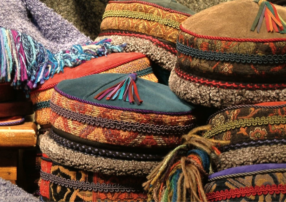 The Tibetan hats