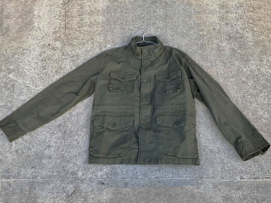 New Green cotton jacket